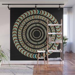 Slow Spin Wall Mural