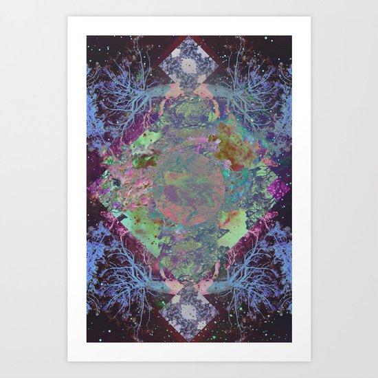 Tralaxy Art Print