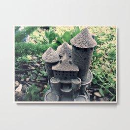 Garden Castle  Metal Print