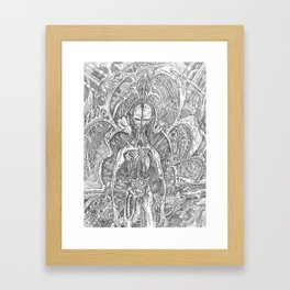 -Dissappointment- Framed Art Print