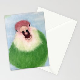 Lovebird Stationery Cards