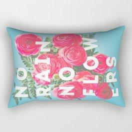 No Rain No Flowers - matte version Rectangular Pillow