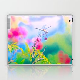 Dragonfly Dream a while Laptop & iPad Skin