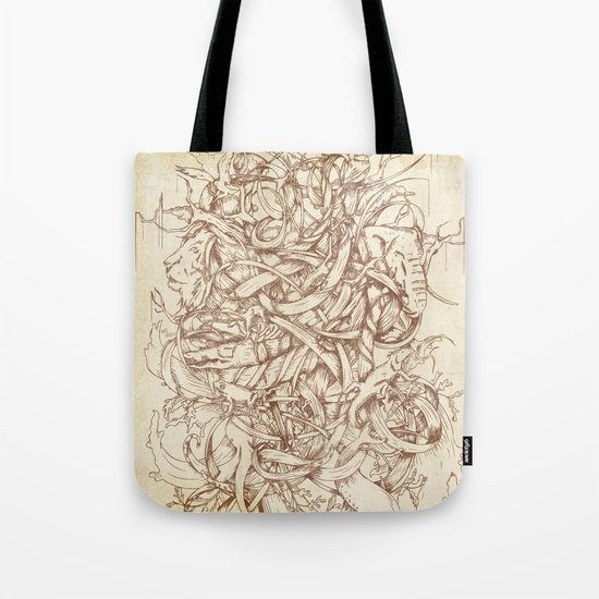 Water,Earth & Air | VACANCY zine | Tote Bag