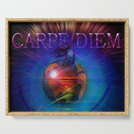 Carpe Diem 20 Serving Tray