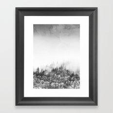 Monochromatic Landscape Framed Art Print