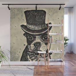 Aristocratic dog Wall Mural