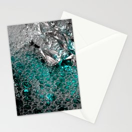 Polar Ice   Abstract Photography Stationery Cards