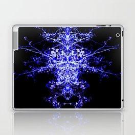 Neon Mirrored Trees 3 Laptop & iPad Skin