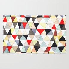 Geometric Pattern Watercolor & Pencil Robayre Rug