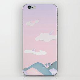 Egg Clouds iPhone Skin