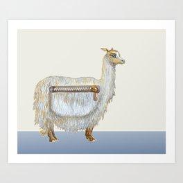Pack Alpaca Art Print