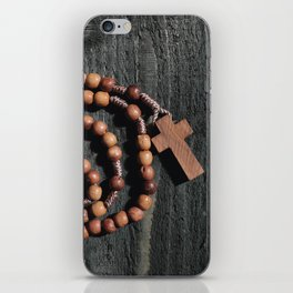 Roman catholic rosary iPhone Skin