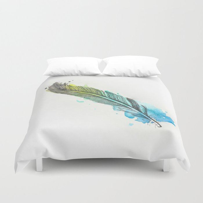 Fairy Feather Duvet Cover