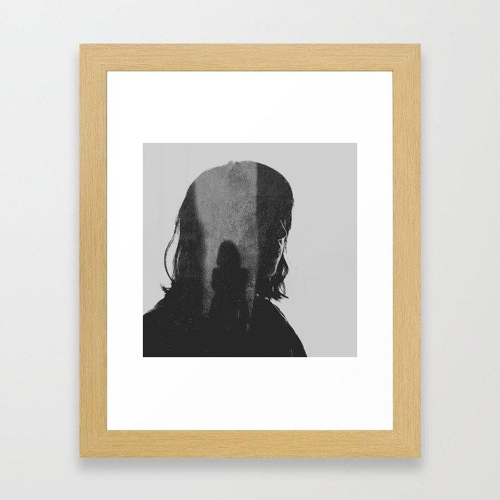 moment of inertia Framed Art Print