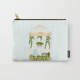 bird cage garden Carry-All Pouch