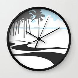 Copacabana. (Praia Leme.) Wall Clock