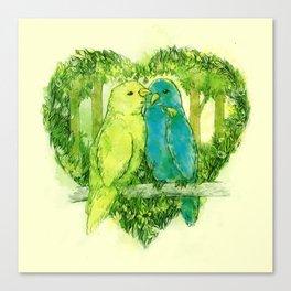 I Love You @Tweet Canvas Print