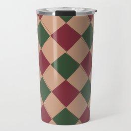 Modern Argyle 3 Travel Mug