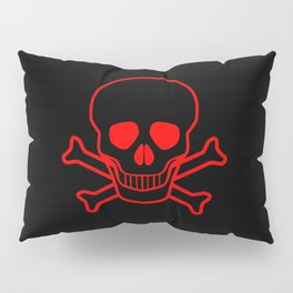 Skull and Crossbones Pillow Sham