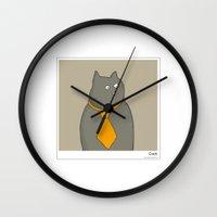 cacti Wall Clocks featuring Cacti by Masonic Comics