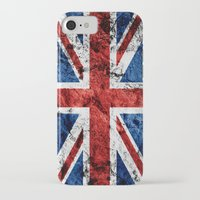 british flag iPhone & iPod Cases featuring British Flag by TOJO Art