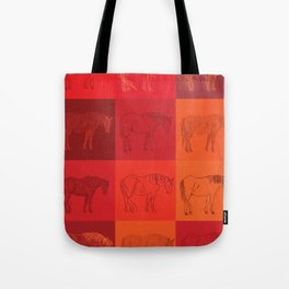 Andy Horse Pop Tote Bag