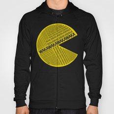 Pac-Man Typography Hoody
