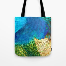 Colors of the Peacock Tote Bag