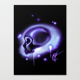 Rainbowseries - Purple Canvas Print