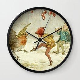 """A Merry Jig"" by Margaret Tarrant Wall Clock"