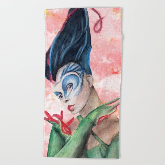 Circus Beach Towel