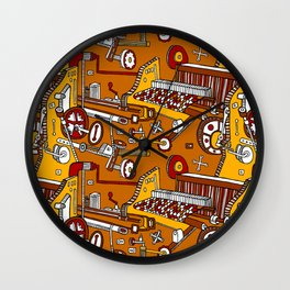 Looming Large Wall Clock