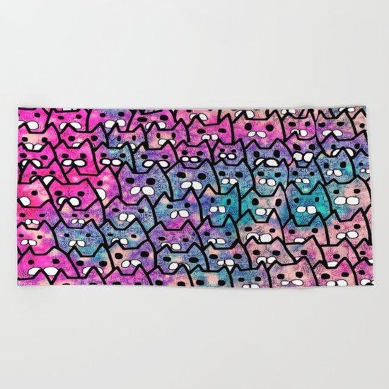 cat-84 Beach Towel