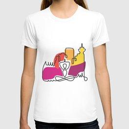 Urban Yoga Graphic T-shirt
