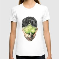 video games T-shirts featuring Triangles Video Games Heroes - Sam Fisher by s2lart