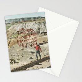 Ramblin' Man Stationery Cards