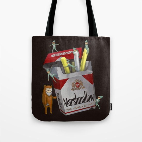 The World Is Soft Tote Bag