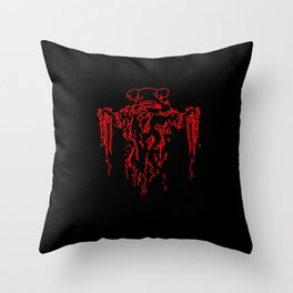 Zeta Minor Anti-Matter Monster Throw Pillow