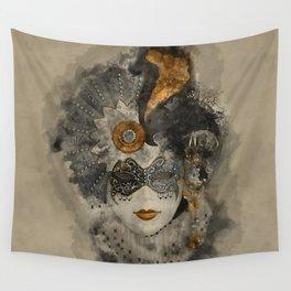 Venetian Mask 2 Wall Tapestry