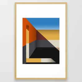 Beje Framed Art Print
