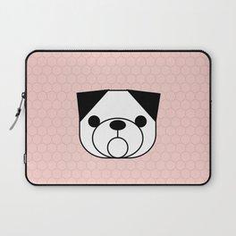 Pop Dog Pug Laptop Sleeve