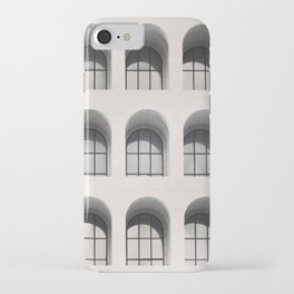 Rome Black and white photography Modern architecture Urban photo City architecture Italy travel iPhone Case