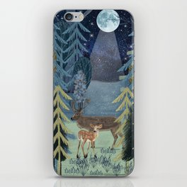 the secret forest iPhone Skin