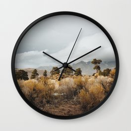 Great Sand Dunes National Park Wall Clock