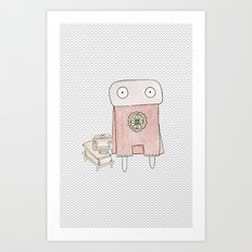 Superheros Art Print