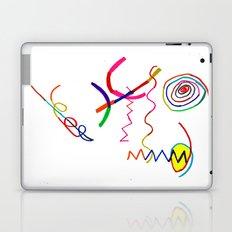 Funky Way Doodle Laptop & iPad Skin
