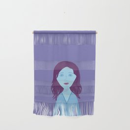 The Girl Who Remains Wall Hanging