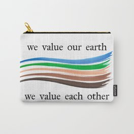 We Value Carry-All Pouch