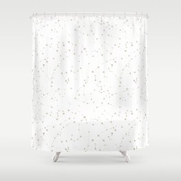 stars in the zodiac Shower Curtain